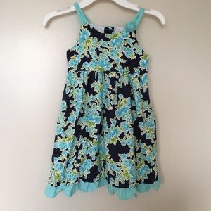 Other - Girls floral print dress